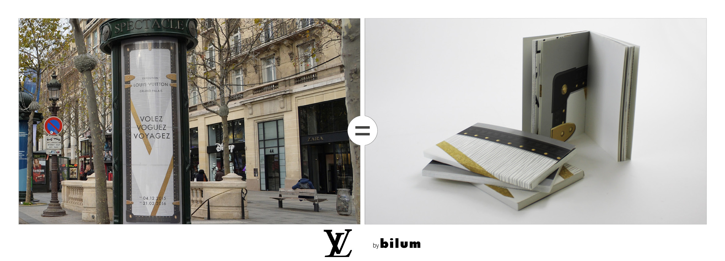 Louis Vuitton carnets upcycles by bilum