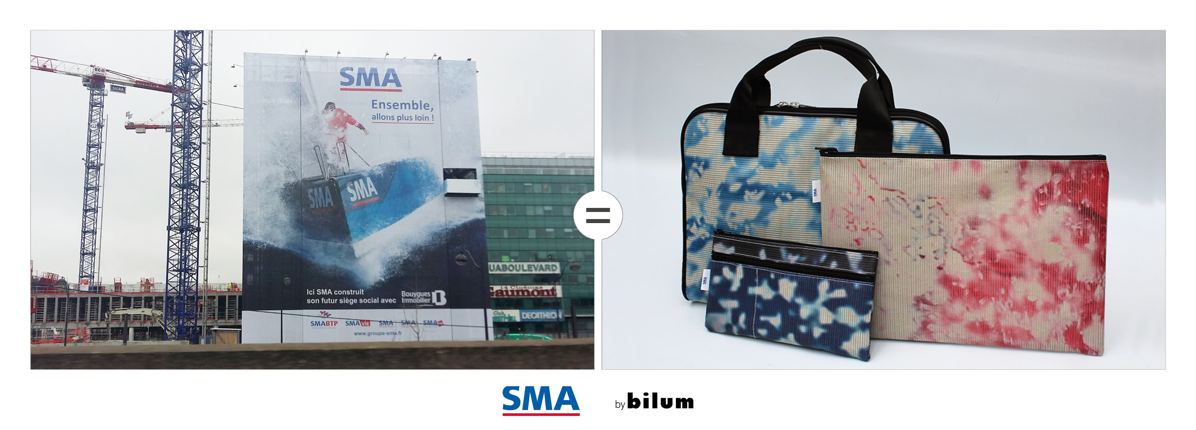 SMA bache upcyclees by bilum